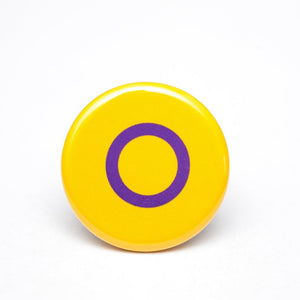 intersex pride flag button