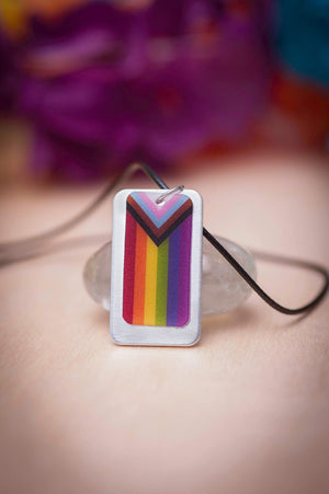 lgbtq pride inclusive rainbow flag jewelry