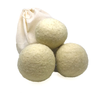 Wool Dryer Balls (3 Pack)