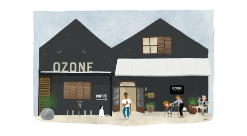 New Plymouth Beanstore Ozone Coffee Roasters