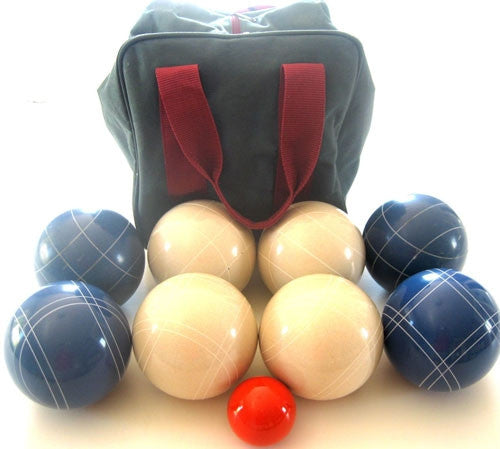 EPCO Tournament Set, Blue and White Balls - 110mm Bag Included