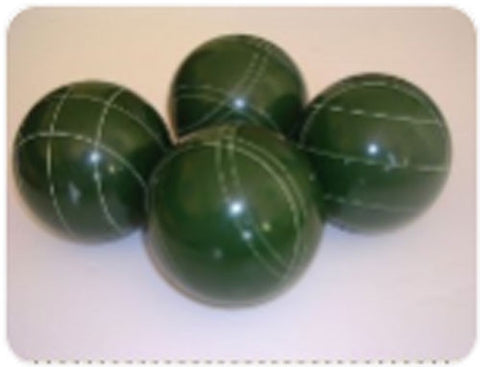 4 Ball EPCO Set with green balls and mix of striping – 107mm