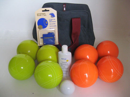 Basic EPCO Bocce package - 107mm Yellow and Orange balls