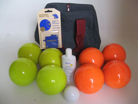 Basic EPCO Bocce package - 110mm Yellow and Orange balls