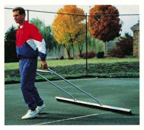 Bocce Court 7' Drag Brush-Handle Model