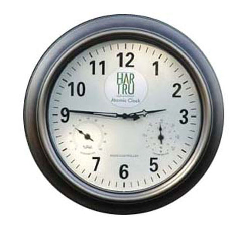 Bocce Court - Court Clock