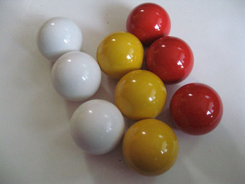 EPCO Bocce Mixed Color Pallinos - 9 Pack