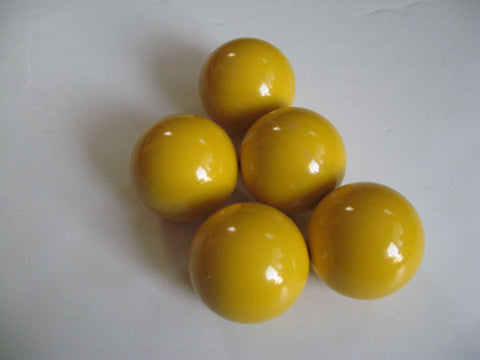 EPCO Bocce Yellow Pallinos - 5 Pack
