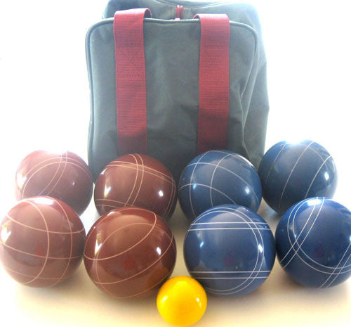 EPCO Tournament Set, Red and Blue Balls - 110mm Bag Included