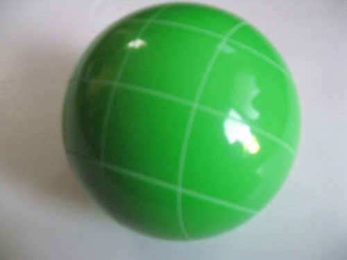 Replacement EPCO 110mm Light Green Bocce Ball with Criss Crossed stripes