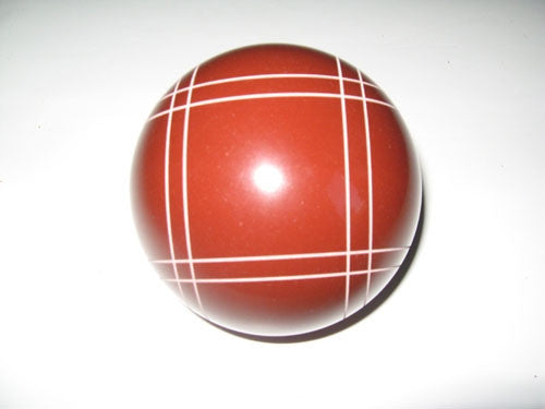 Replacement EPCO 114mm Bocce Ball with Close Curvey stripes