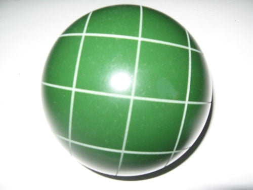 Replacement EPCO Bocce Ball with Criss Crossed stripes
