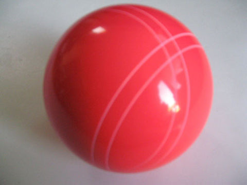 Replacement EPCO 110mm Bocce Ball with Close Curvey stripes