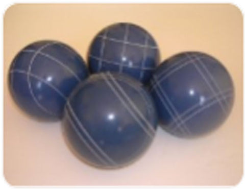 4 Ball EPCO Set with blue balls and mix of striping - 110mm