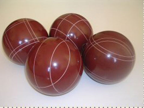 4 Ball EPCO Set with red balls and mix of striping – 110mm