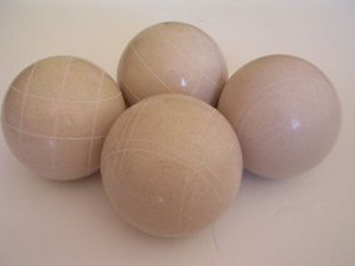 4 Ball EPCO Set with white balls and mix of striping – 110mm