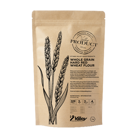 Whole Grain Hard Red Wheat Flour