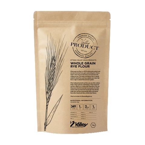 Whole Grain Rye Flour