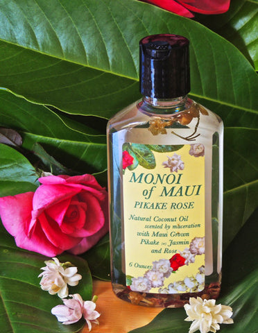 Monoi Oil Pikake Rose 6.4 Ounce    Reduced from $19