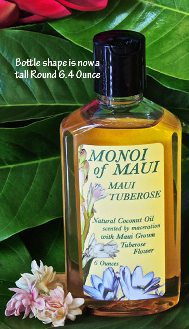 Monoi Oil Tuberose 6.4 Ounce