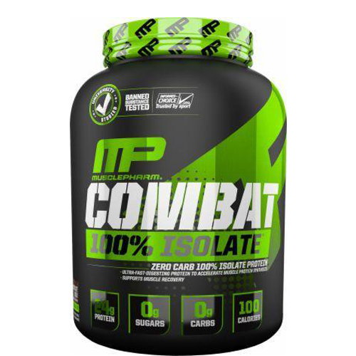 MusclePharm Combat Isolate Protein Powder Supplement | Supps Is Life