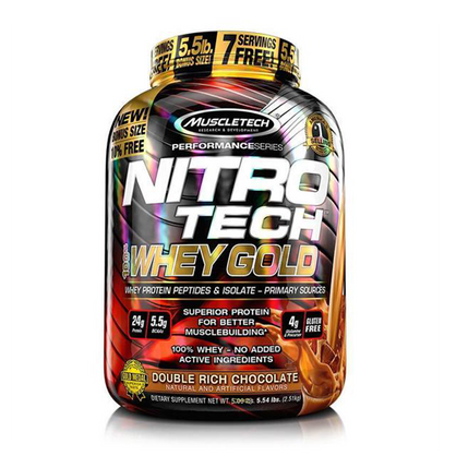 Muscle tech Nitro Tech Whey Gold Protein Powder | Supps Is Life