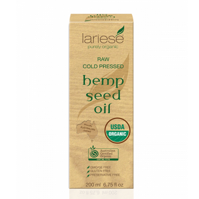 Lariese Hemp Seed Oil 200ml - Supps Is Life