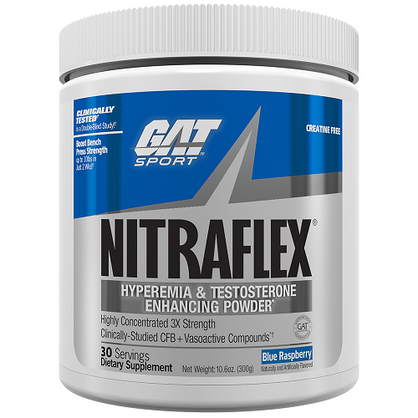Buy GAT Nitraflex Pre Workout Testosterone Supplement | Supps Is Life