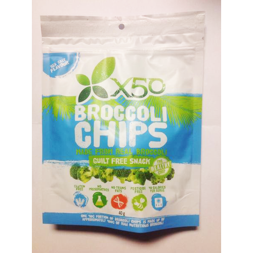 X50 Broccoli Chips - Supps Is Life | Big Brands, Discount Prices|