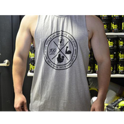 Chaos Cut Off Tee - Supps Is Life - 1