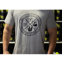 Chaos Muscle Tee - Supps Is Life - 1