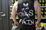 Chaos Cut Off Tee - Supps Is Life - 4