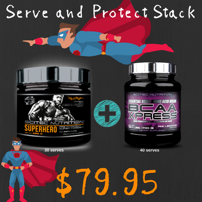 Scitec Nutrition Serve and Protect Stack