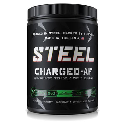 Steel Supplements Charged-AF Pre Workout