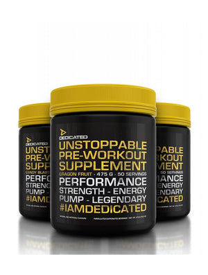 Dedicated Nutrition Unstoppable Pre Workout