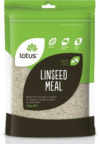 Lotus - Linseed Meal 500g - Supps Is Life