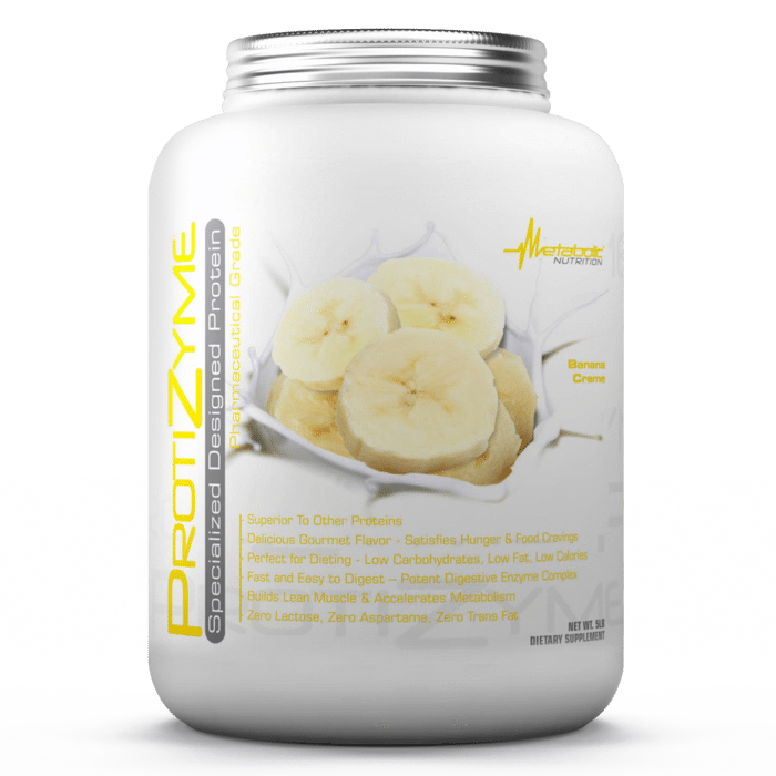 Metabolic Nutrition Protizyme Protein Powder