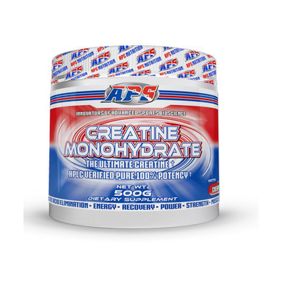 APS Nutrition Creatine Monohydrate Powder Supplement | Supps Is Life