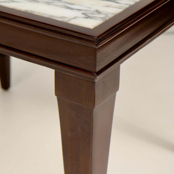 Marble Topped Side Table by Burkey