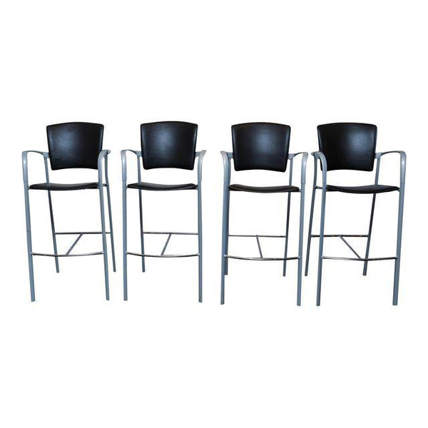 Set of 4 Enea Barstools by Josep Llusca for Coelesse