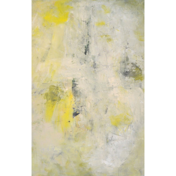 Untitled Abstract 39″ x 58.75″ Oil on Canvas by E. Gibek