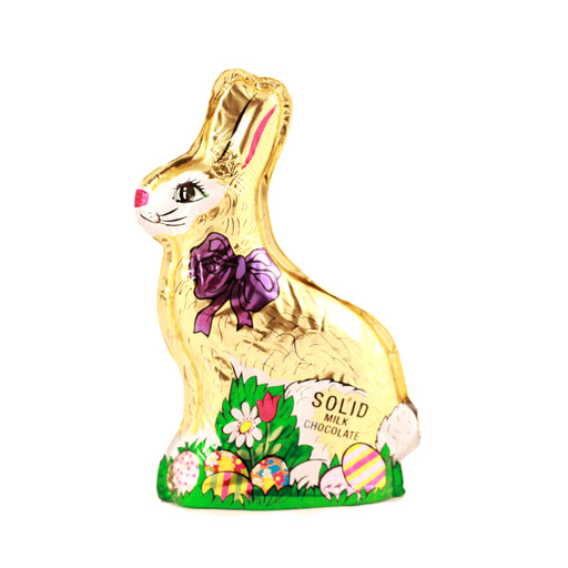 Solid Gold Foiled Bunny