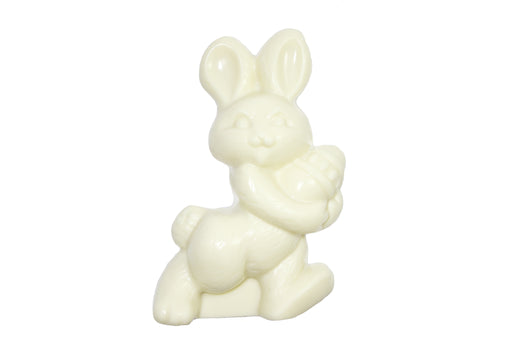 White Chocolate Rabbit with Egg - Rosalind Candy Castle