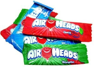 Miniature Air Heads Assorted Taffy