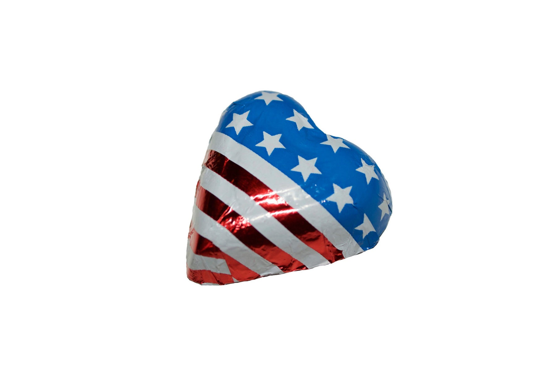 Foiled Flag Hearts