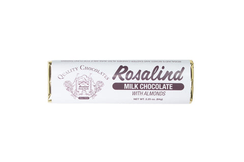 Chocolate Bar - Almond - Rosalind Candy Castle