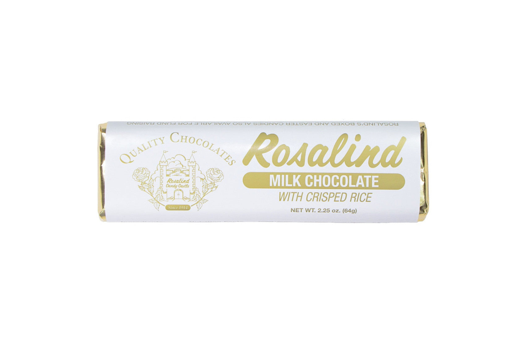 Chocolate Bar - Crisp Rice - Rosalind Candy Castle
