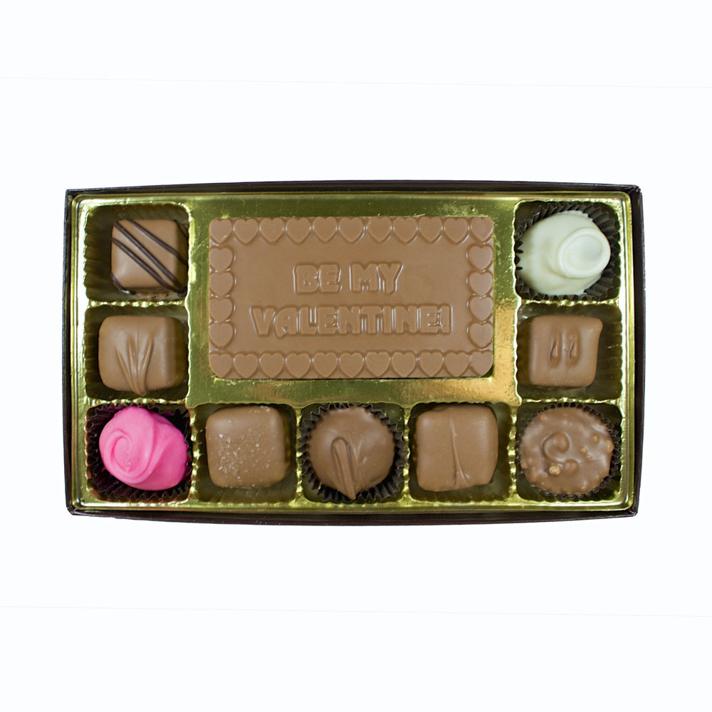 Be My Valentine 10 Piece Box - Rosalind Candy Castle