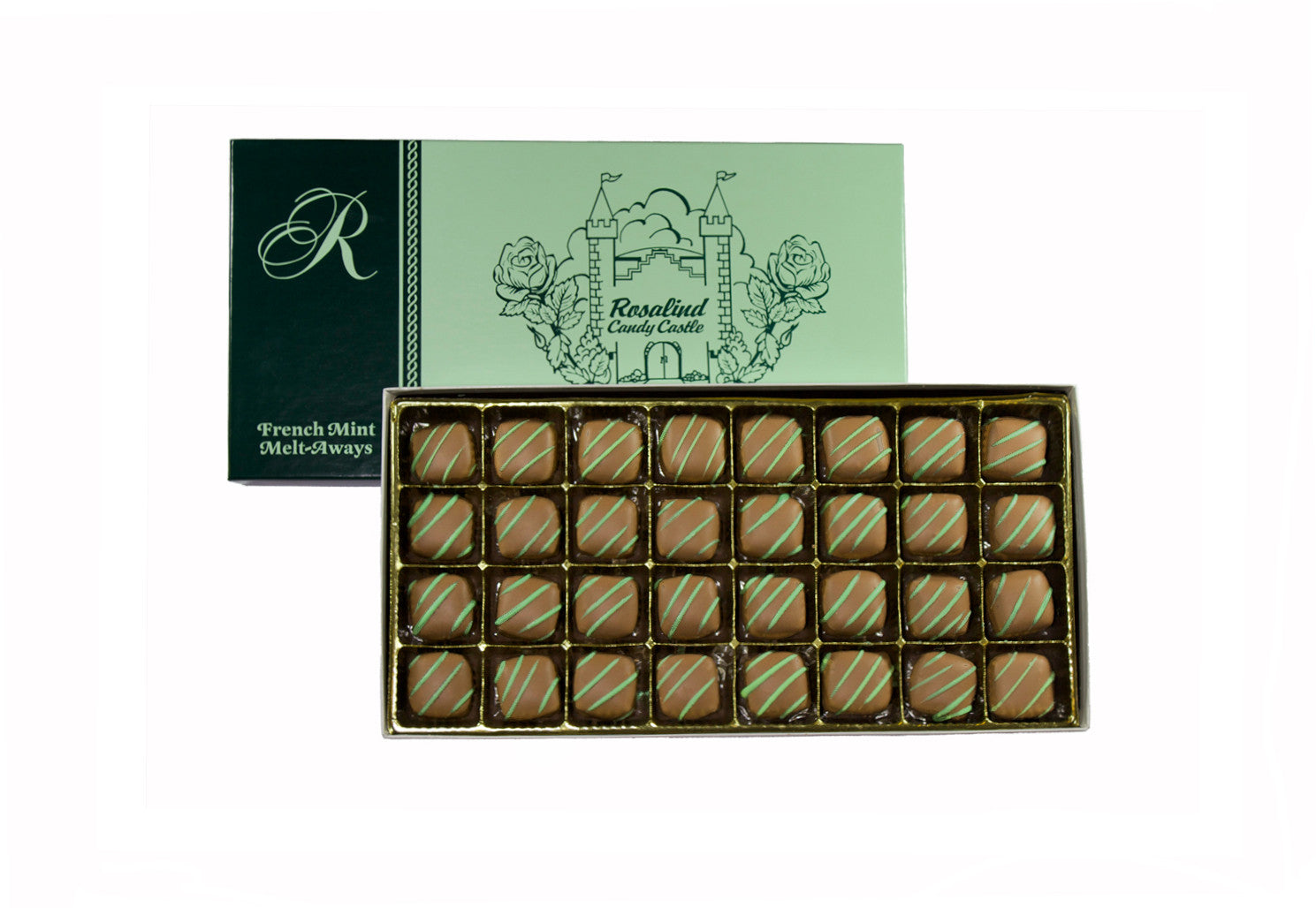 French Mint Meltaways - Rosalind Candy Castle