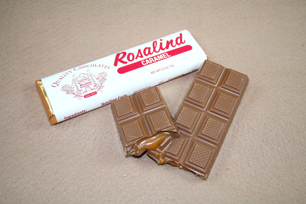 Chocolate Bar - Caramel - Rosalind Candy Castle